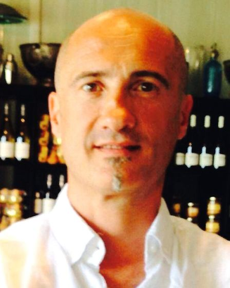 Chef Cyrille Guiliani at Terre et Mer