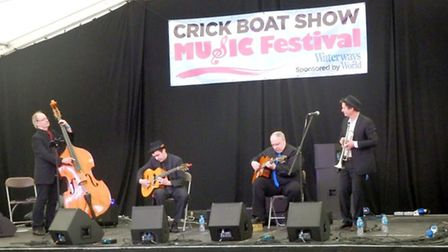 The live music at Crick was great this year!
