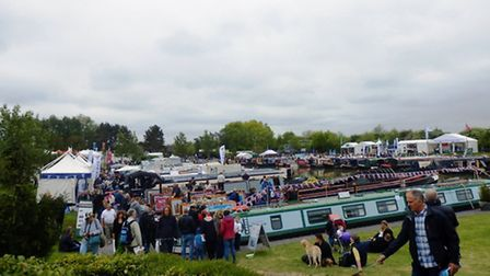 The clouds didnt stop the crowds...