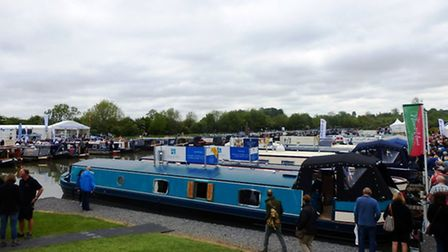 One of the magnificent boats on show