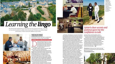 How-to guide to learning French in the July 2015 issue of Living France