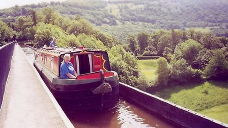 The Pontcysyllte Aqueduct is a must-do for most canal lovers
