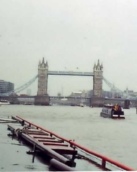 Tower Bridge on the River Thames - it's not just the countryside that you can explore by boat