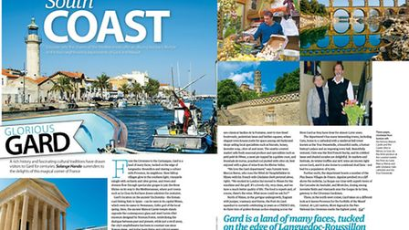Discover Gard and Herault in the August 2015 issue of Living France