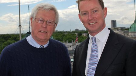 Greg Barker with John Craven © Department of Energy and Climate Change, Flickr