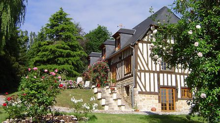 Charming timber house near Caen for 365,000 euros