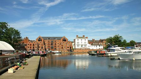 'Stourport Canal Basin' © Paul Reynolds, Flickr, CC BY 2.0