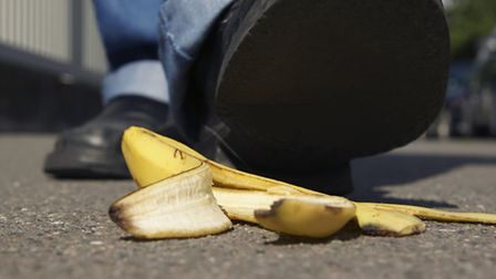 Leave your banana peels at home!