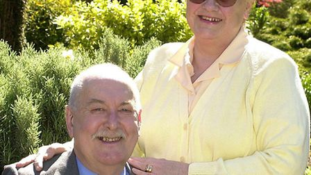 The new Mayor of Thetford, Albert Paines, pictured with his wife, Thelma, a former Mayor of Thetford