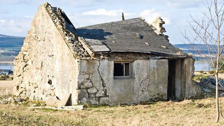 Neglected barn in France © Dreamstime