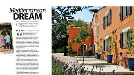 Meet expats running a B&B on the Mediterranean in the December 2015 issue of Living France