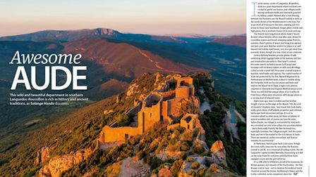 Discover Aude in the January 2016 issue of Living France