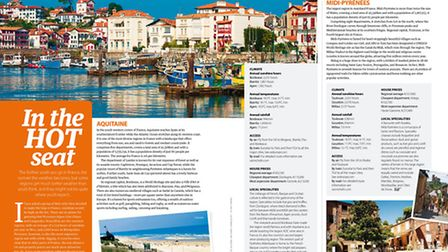 Discover France's sunniest regions in the January 2016 issue of Living France
