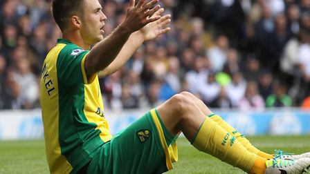 Norwich City's club record signing Ricky van Wolfswinkel is back in fold for the festive period afte