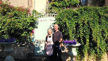 Richard and Nancy Harrison moved from San Francisco to Sarthe