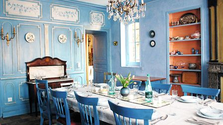 The dining room at Maison Conti