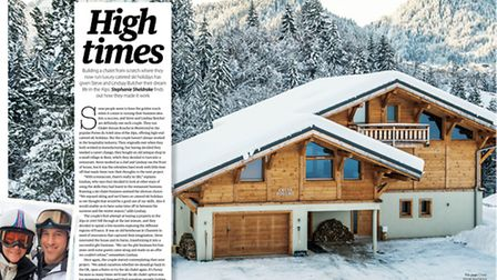 Read about expats in the Alps in the February issue of Living France