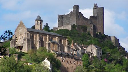 The chateau in Najac