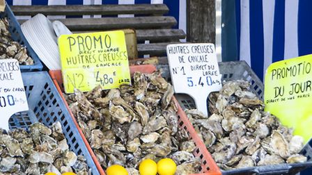 Oysters from Brittany © CRT Bretagne / Jacqueline Piriou