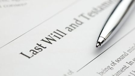 Last will and testament © Petar Neychev / Dreamstime