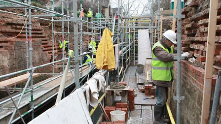Ex-service men and women will soon be working on canal restoration projects like this lock on the Co