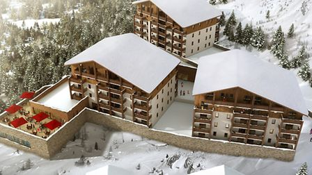 New-build leaseback development in Pra Loup in the Alps on sale with Sextant Properties