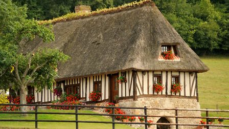 Typical colombage house in Normandy © Pp76 / Dreamstime
