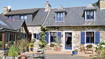 Spacious family holiday home in Brittany
