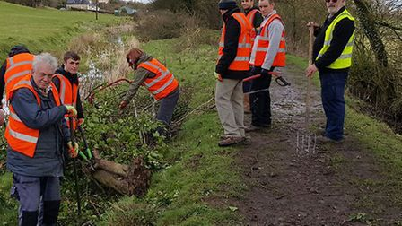 Community payback scheme helps Montgomery Canal