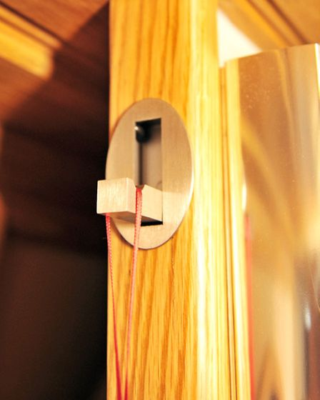 Folding hooks are a neat solution to hang items