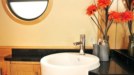 Definitely a different way of doing the shower room basin, we rather like it
