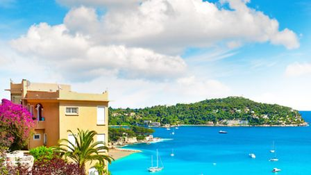 Villefranche-sur-Mer on the French Riviera © Liligraphie / Dreamstime.com