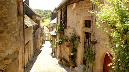 The village of Turenne in Correze © Georges Blond / Fotolia