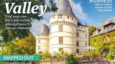 The April issue of Living France is out now