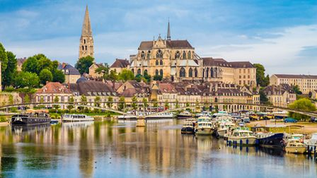 Auxerre in Burgundy-Franche-Comte © bluejayphoto ThinkstockPhotos