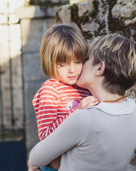 Gillian's daughter Lily begrudges her mum speaking French