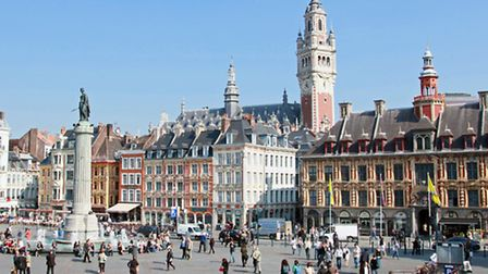Grand Place in Lille © OTCL Lille / maxime dufour photographies