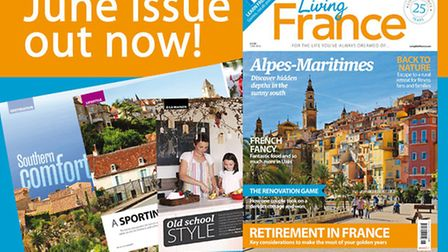 Living France June 2016 issue out now!