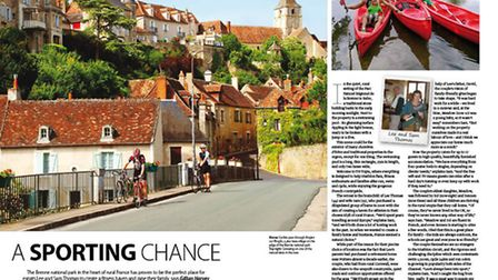 Find out how one family fulfilled their dream of running a fitness retreat in Indre