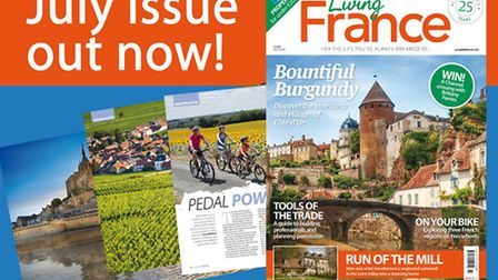 Living France July issue 2016 is out now!