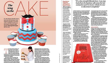 Find out how Danielle Jackson made a success of her cake-making business in Tarn