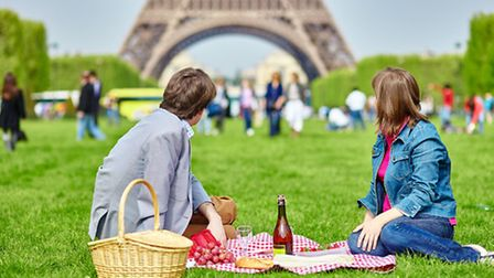 A picnic on the Champ de Mars in Paris is a must-do ©ThinkstockPhotos