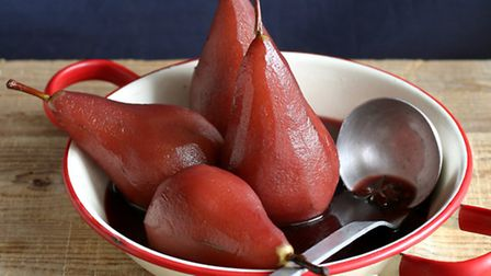Pears poached in red wine © Violetaa / Dreamstime