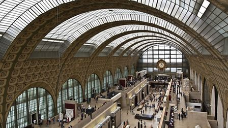 A view inside the ground floor gallery of the Musée d'Orsay © Dreanstime - Lachris77
