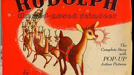 Rudolph the Red-Nosed Reindeer by Robert L May. There is a pop up version of this classic children's