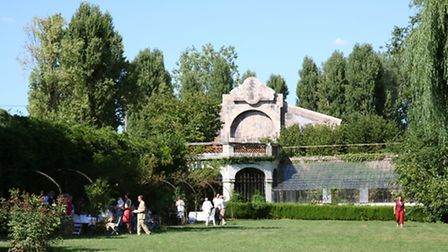The grounds of Les Capucins, a Loire Valley chateau