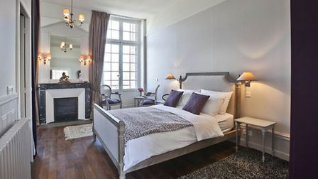 Beautiful room in Les Fleurons in Amboise ©Marc Jauneaud