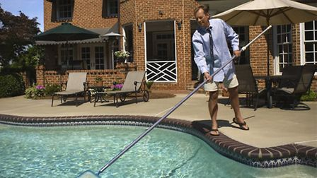 Swimming pool maintenance is essential in a property management business © ThinkstockPhotos