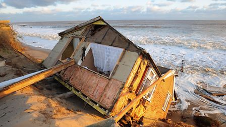 Hemsby wakes up to the early morning sun to the scene of devastation when the high tides destroyed h
