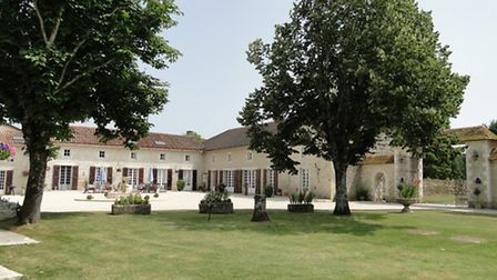 The property in Poitou-Charentes came with lots of land